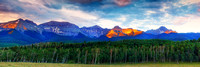 The high and rugged San Juan Mountains are Colorado's largest mountain range by area.